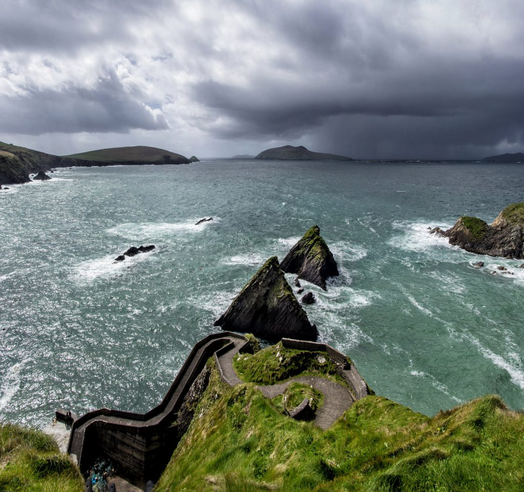 Le petit port de Dunquin sur la péninsule de Dingle
